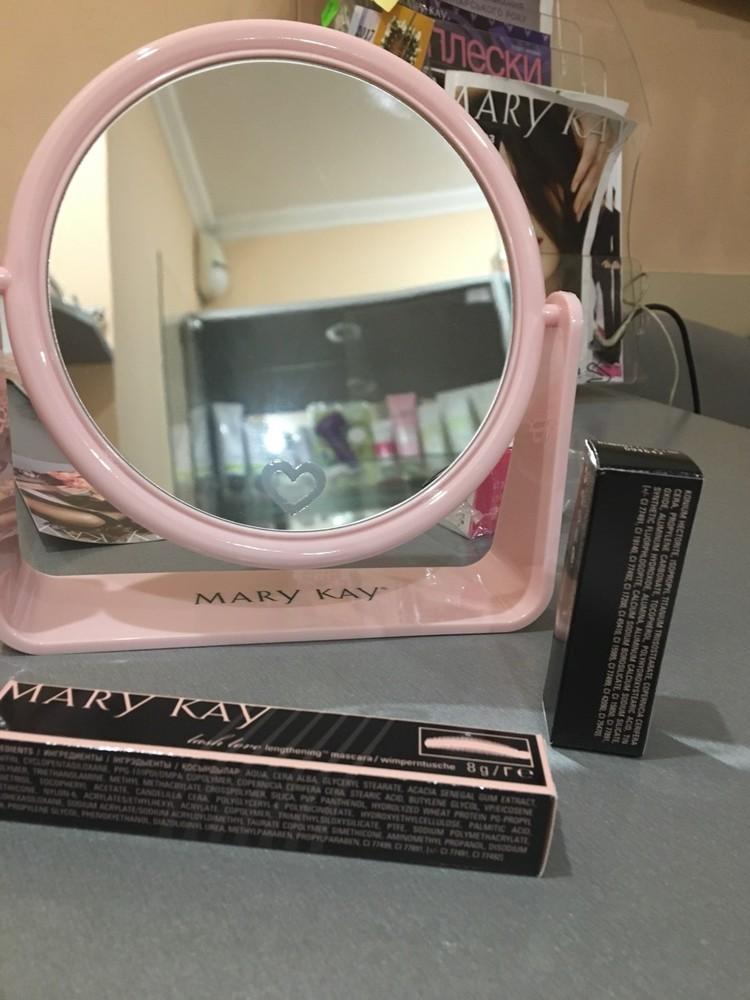 Красивое розовое зеркало mary kay, мэри кэй, мери кей фото №1