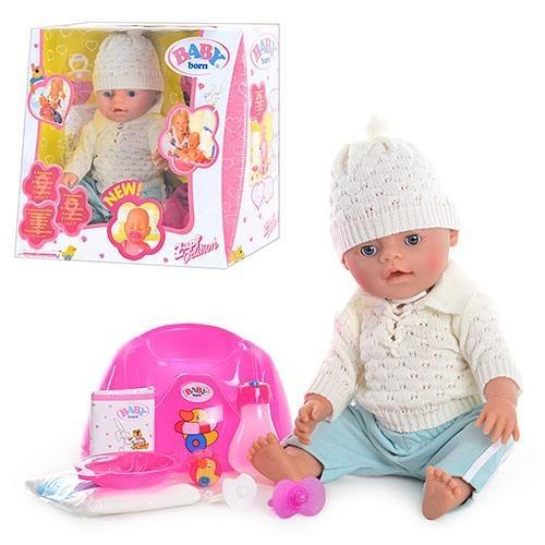 Пупс baby born bb 8001 много видов . кукла лялька аналог беби борн бон фото №1