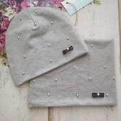 Комплект шапка снуд від 42-56 розміру