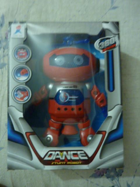 Робот  батар., в коробке  танцует ездит крутится фото №1