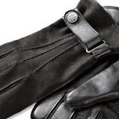 Перчатки мужские кожаные с мягкой тепленькой подкладкой  ТСМ tchibo Германия. Размер 8.5