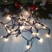 Новогодняя гирлянда, 5.7 м На 40 лампочек