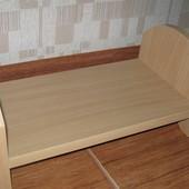 Кровать для кукол. 30 см. Дерево. Ручная работа