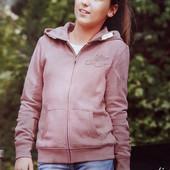 Розовая кофта с капюшоном размер 116, 34-58 Ю