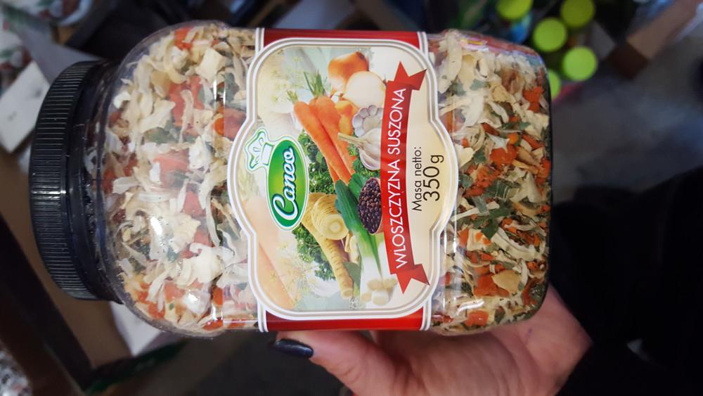 Сушеные овощи (банка) 350 г фото №1
