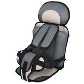 Детское портативное баскаркасное автомобильное кресло переноска