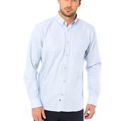 мужская голубая рубашка LC Waikiki / ЛС Вайкики
