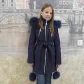 Теплое кашемировое пальто