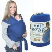 Шарф слинг Moby Wrap
