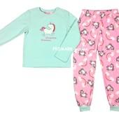 Флисовая пижама для девочки Единорог (7-13 лет) Primark. Читать описание!
