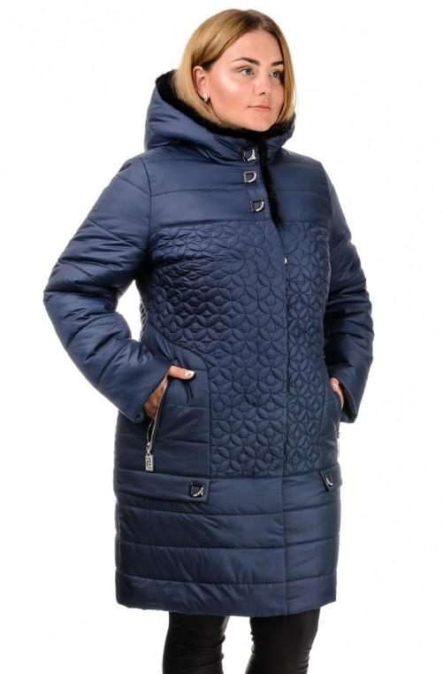 Зимняя женская куртка олимпия, размеры 50-60 опт и розница,цвета разные фото №1