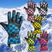 Перчатки горнолыжные женские Lady (перчатки лыжные): 6 цветов
