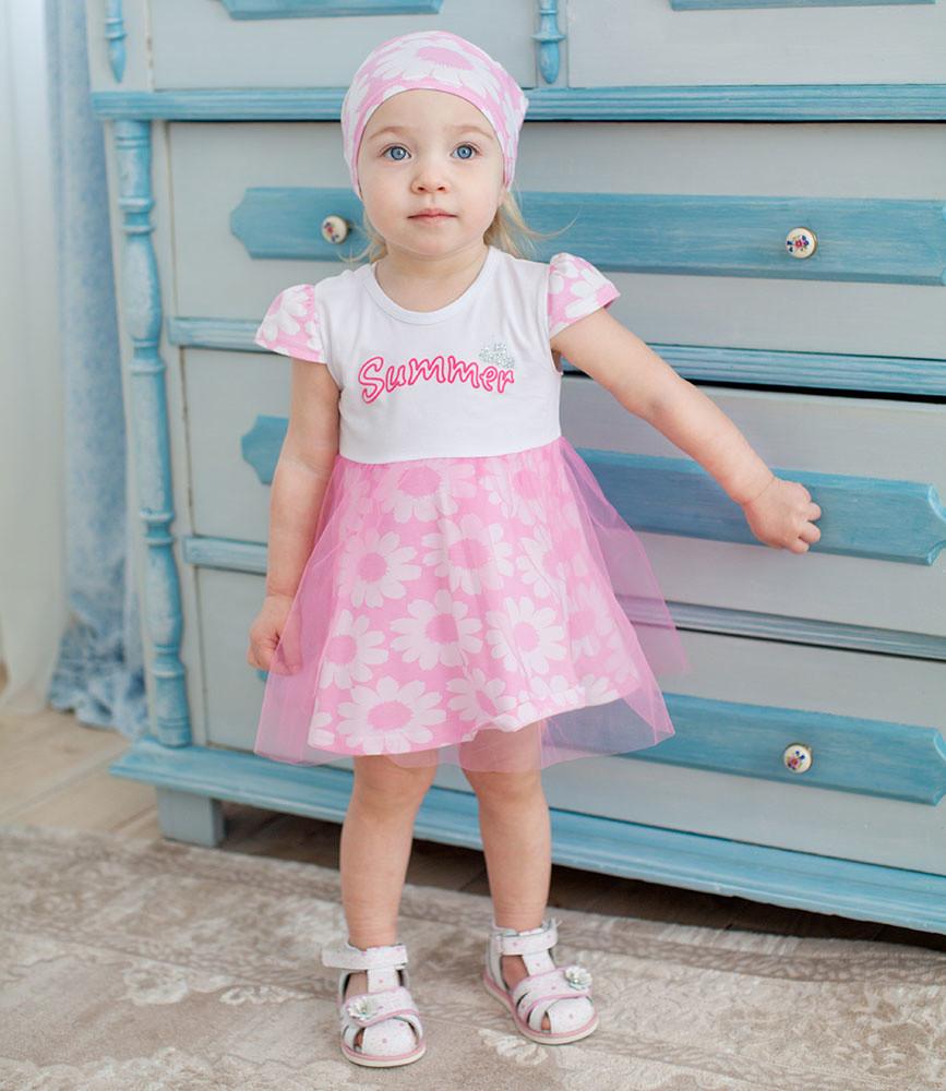 Летнее платье для девочки фото №1