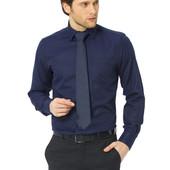 мужская синяя рубашка LC Waikiki / ЛС Вайкики