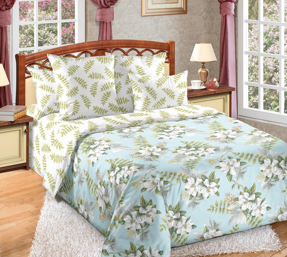 Комплект постельного белья тропики , перкаль фото №1