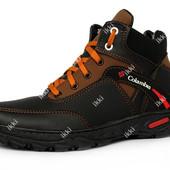 Зимние мужские ботинки теплые на меху (СБ-20чк )
