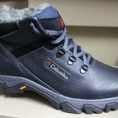 Мужские ботинки кожа натуральная, зима , мех, с 40-45р