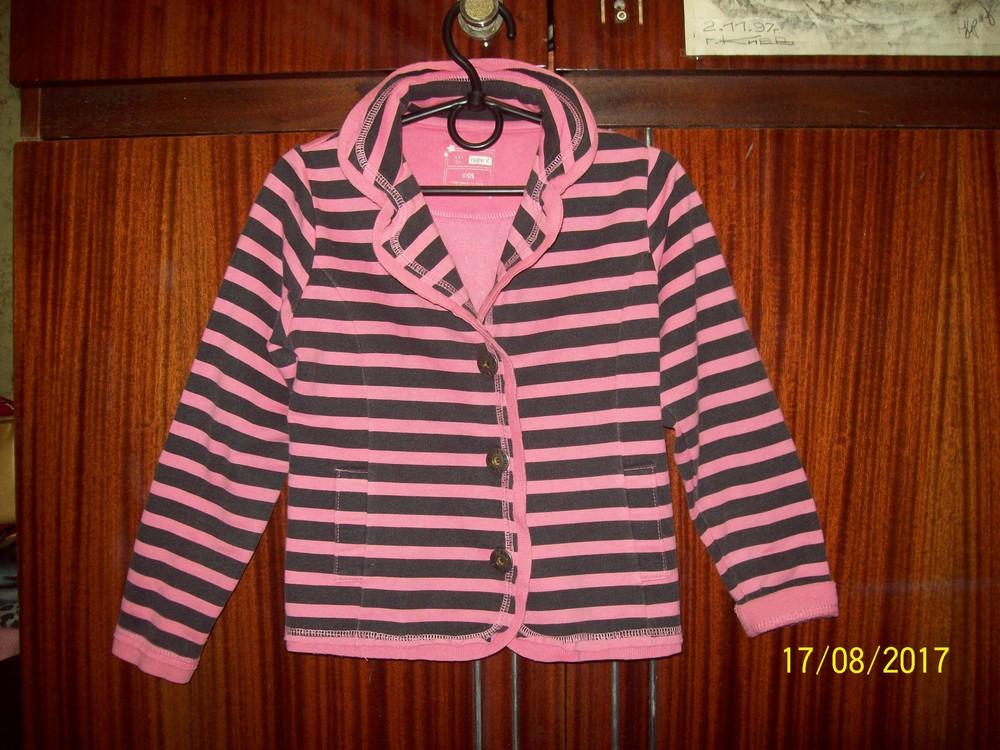 Пиджак трикотажный рост 110 см фото №1