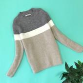 Уютный свитер в полоску 20/48/xxl  SH1843070