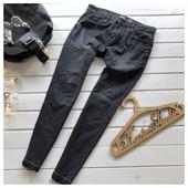 Стильные мужские джинсы скинни Pull&Bear рр М