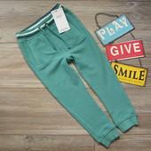 Штаны брюки спортивные зеленые M&S (2-3г)