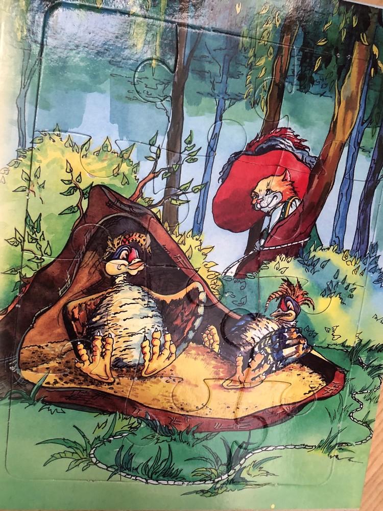 Книга пазлы кот в сапогах фото №3