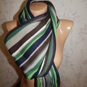 шарф мужской полосатый стильный модный