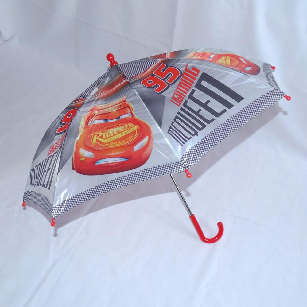 Детский зонтик-трость тачки фото №1