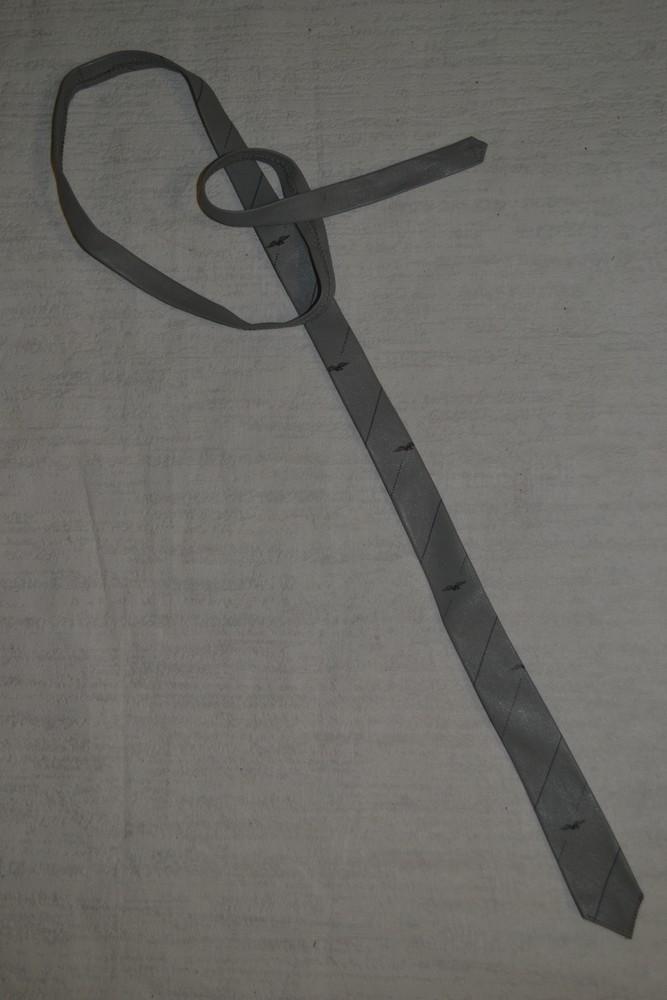 Кожаный галстук фото №1