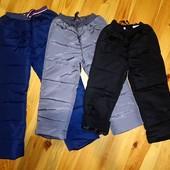 104-134 Болоньевые болонєві зимові зимние теплі  штани