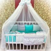 Набор постельного белья с защитой Bonna