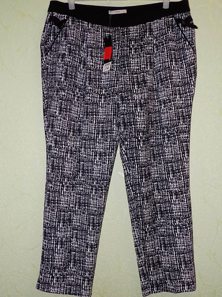 Стильные брюки george размер 18/46, наш примерно 54/56. фото №1