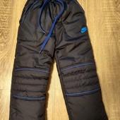 Зимние штаны на флисе 92-98 размер