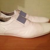 туфли стильные Zara кожаные р.42,5 распродажа