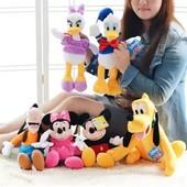 Мягкие игрушки герои Диснея, Поночка, Плуто, Disney, новый