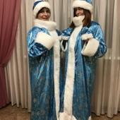 ❄️Роскошный костюм снегурочки велюровый ❄️
