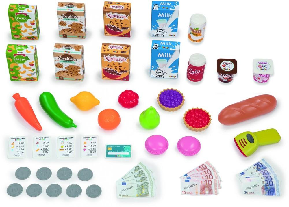 Интерактивный супермаркет smoby toys maxi market со звуковыми эффектами, тележкой и аксессуарами фото №3