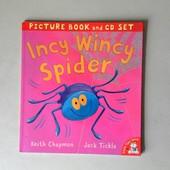 Incy Wincy Spider на страницах этой книги!
