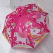 Зонтик Единорог, возраст 3-7 лет