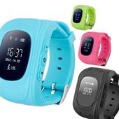 Умные часы смарт детские smart baby watch q50 c gps трекером