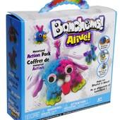 Конструктор-липучка Bunchems Alive 300 деталей Разноцветный