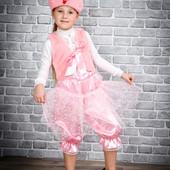 Карнавальные костюмы Хрюши модницы для девочек 2-6 лет опт и розница