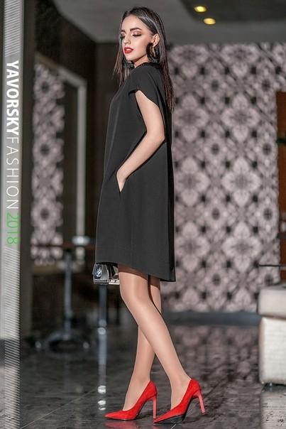 Платье коктельное, размер 42-50 фото №1