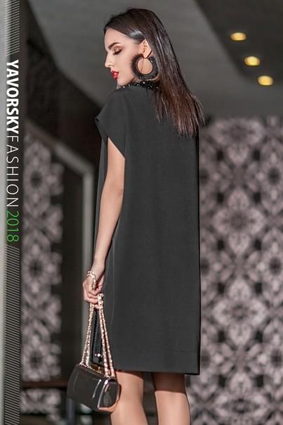 Платье коктельное, размер 42-50 фото №3
