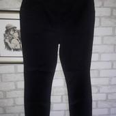 Стрейчевые брюки на резинке р uk 18
