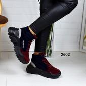 Код м2602 Кроссовки под бренд зима