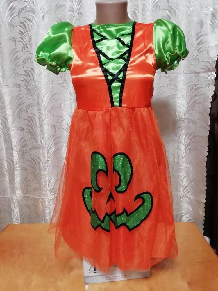 aae0146355d2628 Карнавальное новогоднее платье принцессы тыквы на 10-11лет, цена 250 ...