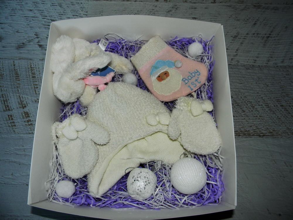 Новогодний набор бокс подарок для новорожденных фото №1