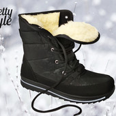 Дутики женские зимние ботинки угги Pretty Style 2