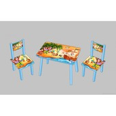 Столик со стульчиками Pirates С 090